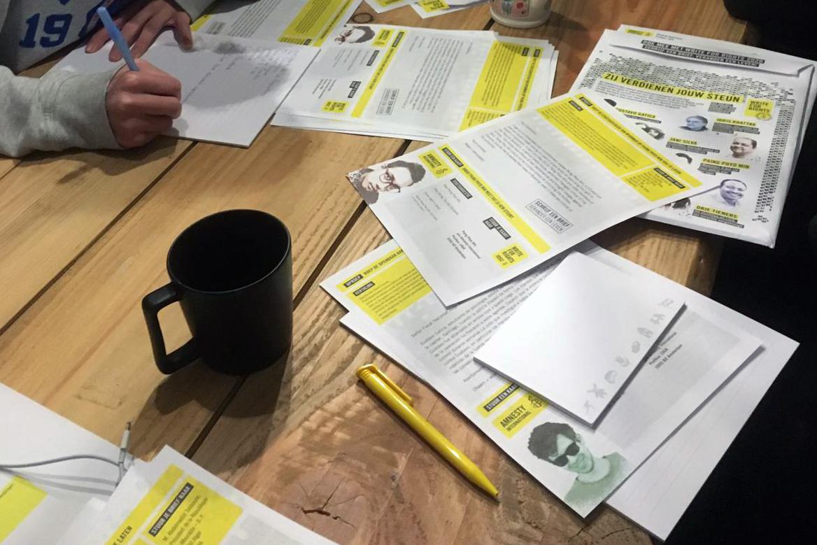 Schrijfmarathon Write for Rights 2020